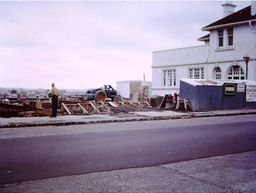Construction of Sauvarins Premises, Kingsland Auckland